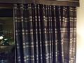 16階のカーテン