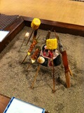 囲炉裏焼き