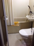 客室のトイレバス