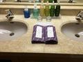 部屋の洗面所