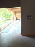 食事処への廊下