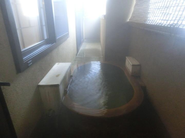本館のお部屋の露天風呂