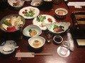 大満足の夕食!!