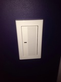 部屋灯のスイッチ
