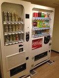 ジュース、アルコールの自販機