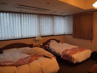 バブル時代の名残のようなホテル