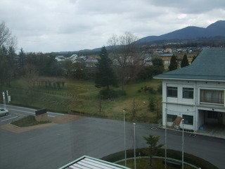 窓からの眺めです(南方面)