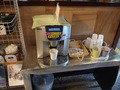 朝食時のコーヒーです(無料)