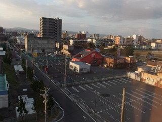 写真クチコミ:部屋から、松江駅方面への眺望です