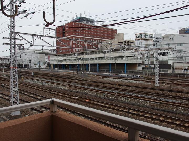 倉敷駅の眺望(東側)