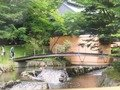 集いの館につながる橋