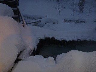 冬場はかなり雪深い