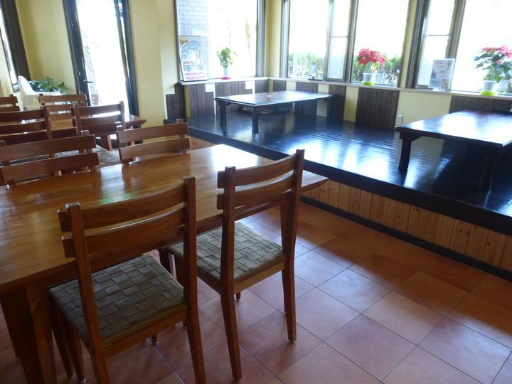 食堂スペースについて