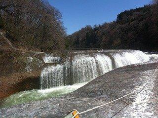 吹きわれの滝
