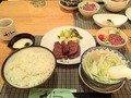 夕飯の牛タン定食