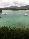 川平湾のグラスボート