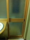 部屋のお風呂の入り口