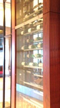 レストランのワイン