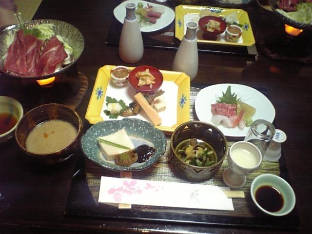 高山牛のお部屋食♪