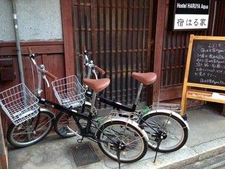 自転車レンタル525円