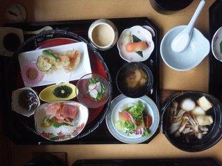 写真クチコミ:アオーネ白神十二湖の夕食~イトウ御膳