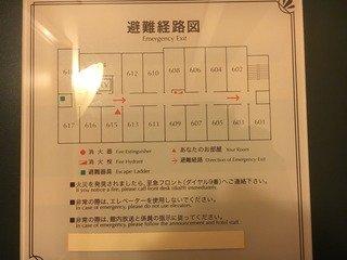 クチコミ:避難経路図