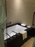 バスルームは桜