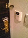 部屋側のカードキー