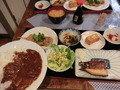 夕食(土曜日限定定番メニュー入り)