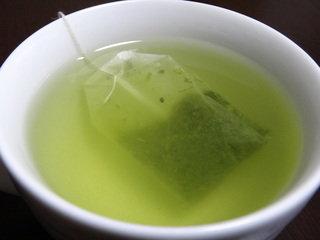 お茶をいれてみました。