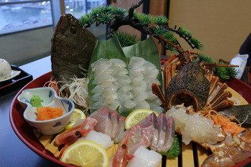 写真クチコミ:海の幸の食事が美味!