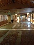 2館を結ぶ渡り廊下