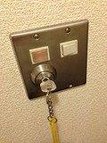 部屋の電源キー