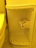 トイレットペーパーの位置が悪い