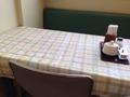 朝食会場テーブル