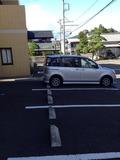 ホテル前駐車場