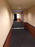 2棟の渡り廊下