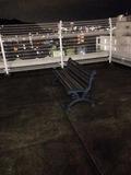 屋上ベンチ