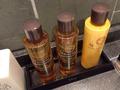 大浴場洗い場シャンプーボトル