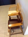 朝食会場幼児用椅子