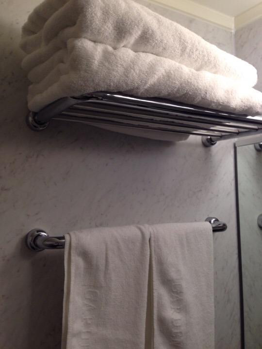 タオルとバスタオル