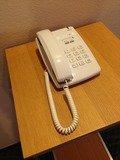 ホールの内線電話