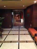 ホテル棟とアネックス棟の連絡通路