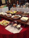 朝食バイキングのサラダやお惣菜