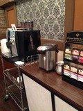 朝食バイキングのお茶やコーヒー
