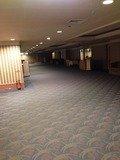 宴会フロア廊下