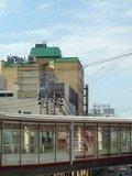 駅方面から見たホテル
