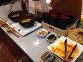 朝食バイキング味噌汁コーナー