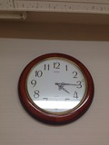 脱衣所壁掛け時計