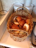 朝食バイキング パンコーナー